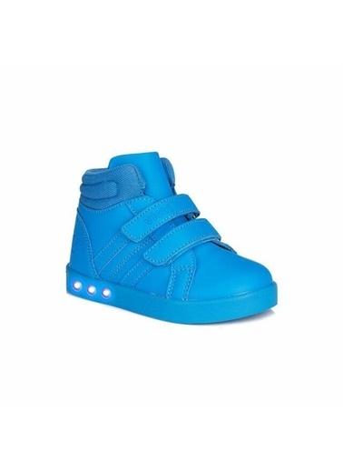 Vicco Vicco 313.B19K.104 Lucky Işıklı Kız/Erkek Çocuk Spor Bot Ayakkabı Mavi